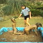 "GGC-25d  ""HOT OIL WRESTLING""  (14 mins.)"