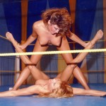 """GGC-185a  """"MORE TOPLESS TUSSLES""""   (17 1/2 mins.)"""